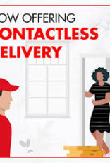 Contactless Afternoon Delivery Slot - 12:30 - 17:00