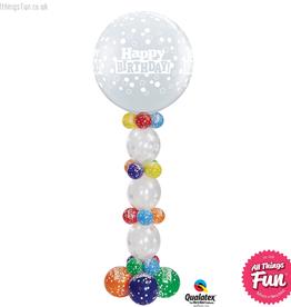 All Things Fun Birthday Confetti Dots Giant QL Column