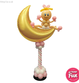 All Things Fun Over the Moon Baby Pedestal