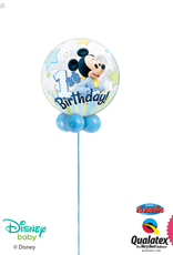 All Things Fun Mickey Mouse 1st Birthday Bubble Design