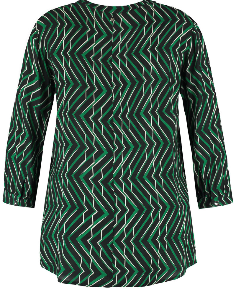 Samoon 560202-21242 Top groen Samoon