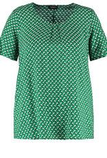 Samoon 560405-21243 Shirt groen Samoon