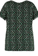 Samoon 571604-26106 Shirt groen Samoon