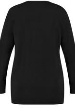 Samoon 532050-29182 Vest zwart Samoon