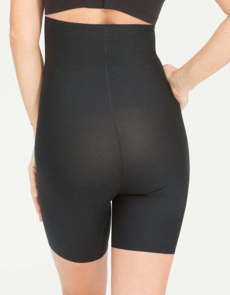Spanx Spanx high waisted mid thight short Black