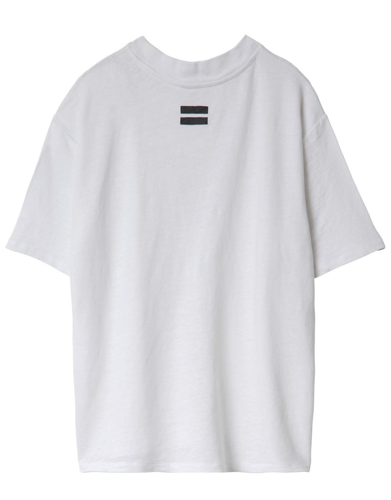 10Days reversible low v-neck tee