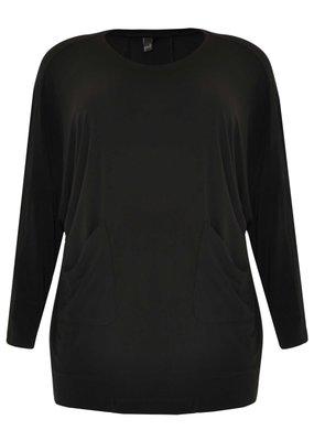 Yoek 8914597 Yoek shirt Dolce zwart Maat 46/48