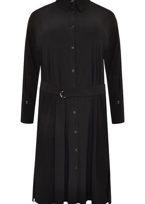 Yoek Dress blouse dolce zwart maat 50/52