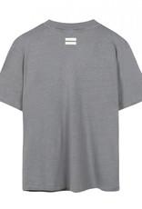 10Days 20-748-1201 Linnen shirt grijs/blauw 10Days