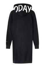 10Days 20-853-1201 lange hoodie zwart 10Days