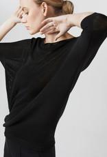 Simple 2402 Sweater zwart Simple Bowi