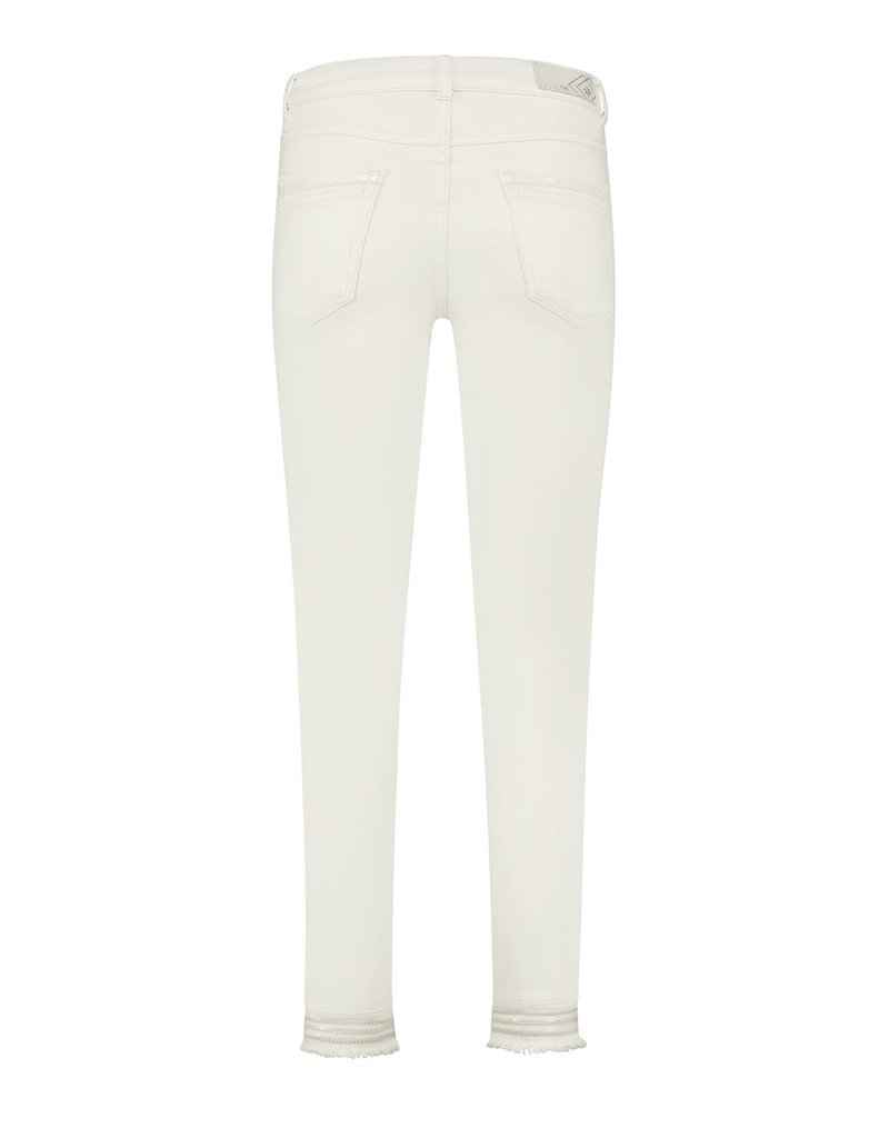 Para Mi SS211.005156 Color Denim broek Senna offwhite Para mi