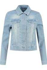 Para Mi SS211.127160 Jacket Mea lichtblauw Para mi