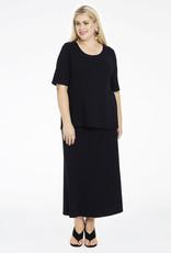 Yoek B4005 Shirt Diagonal zwart Yoek