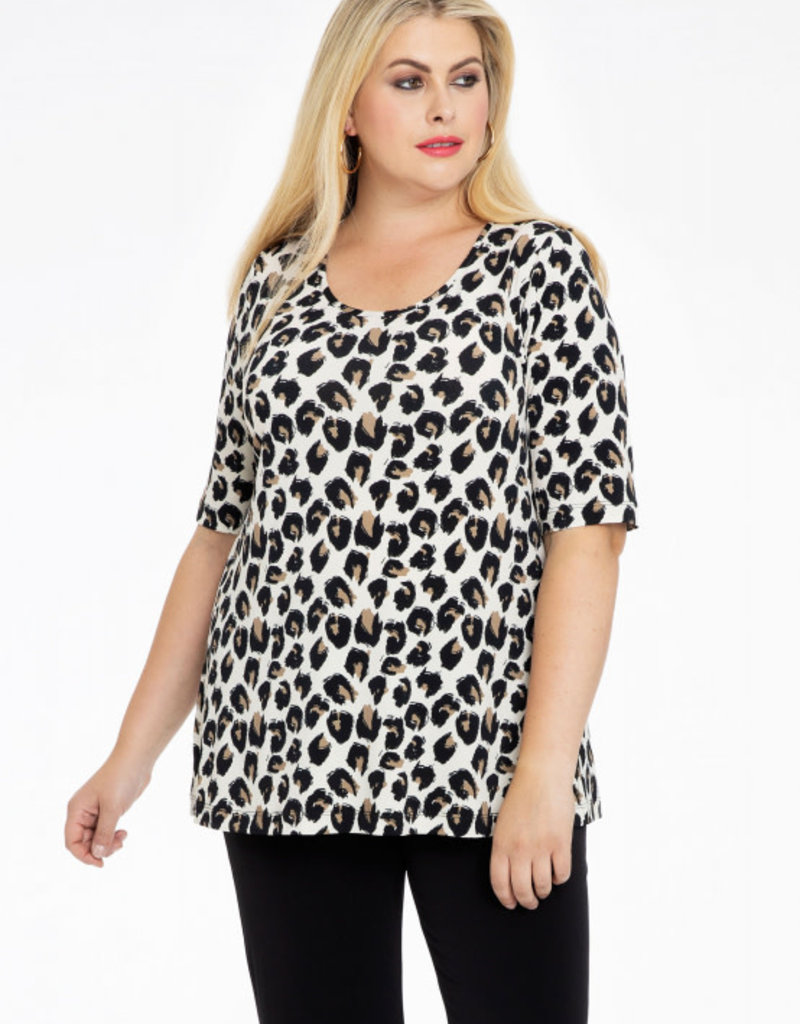 Yoek BL924034 Shirt Feline leopard Yoek