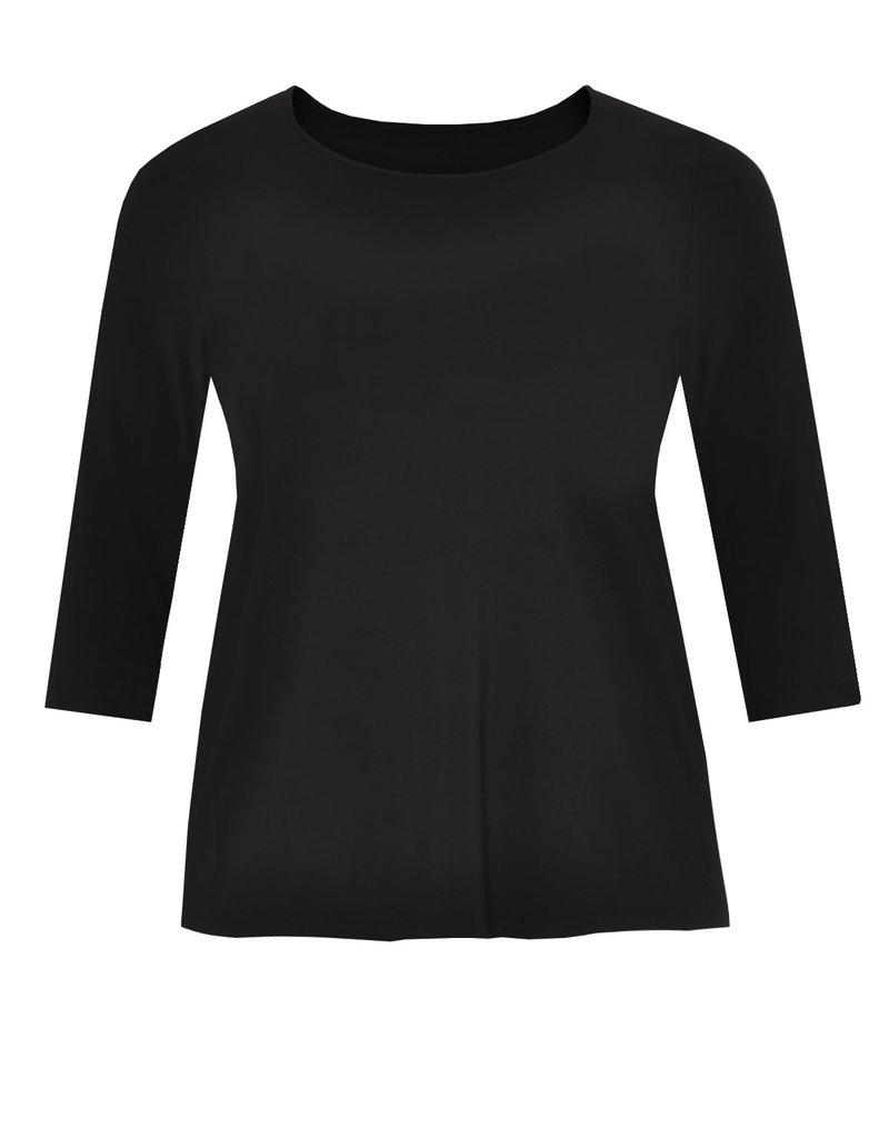 Yoek B4510 Shirt 3/4 mouw Zwart Yoek
