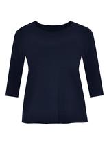 Yoek B4510 Shirt 3/4 mouw Navy Yoek