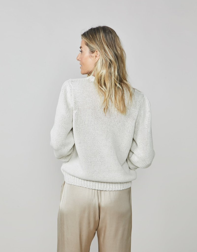 Summum Woman 7s5552-7807 Kabelsweater ivoor Summum
