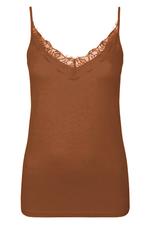 Summum Woman 3s100-90310 Singlet bruin Summum