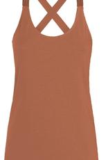 Summum Woman 3s4483-30212 Kruisband top bruin Summum