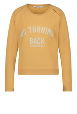 Penn&Ink N.Y sweater No turning back S21F872 Cinnamon bruin Penn&Ink
