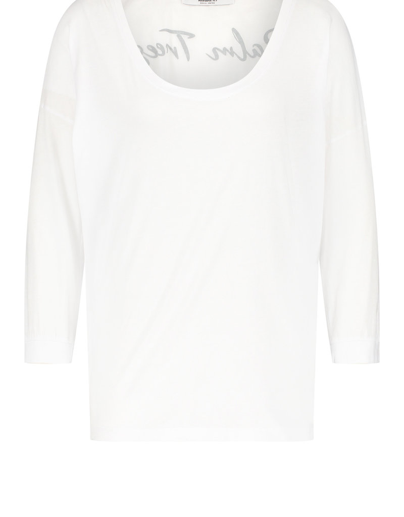 Penn&Ink N.Y t-shirt print S21F867 wit Penn&Ink
