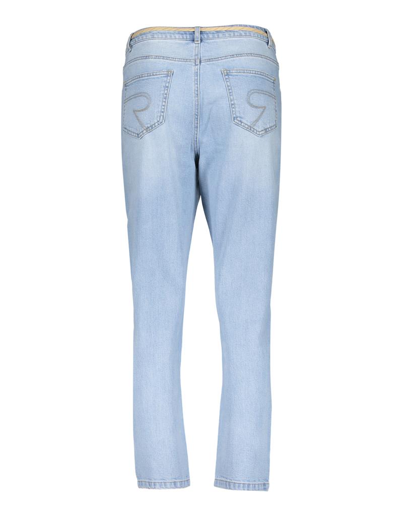 Geisha Jeans with lace at waist 11017-10 Denim Geisha