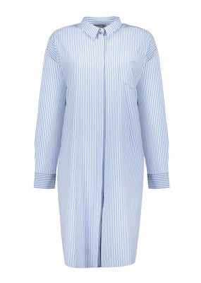 Geisha Jurk blouse gestreept Blauw 17133-20 Geisha