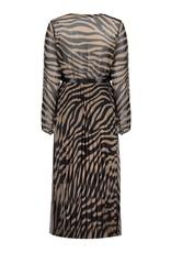 Geisha Jurk zebra & satin strap 07846-60 Bruin