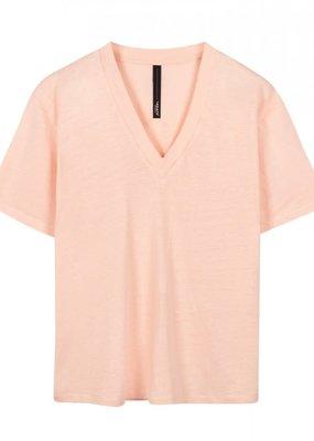 10Days 20-748-1201 Linnen shirt roze 10Days