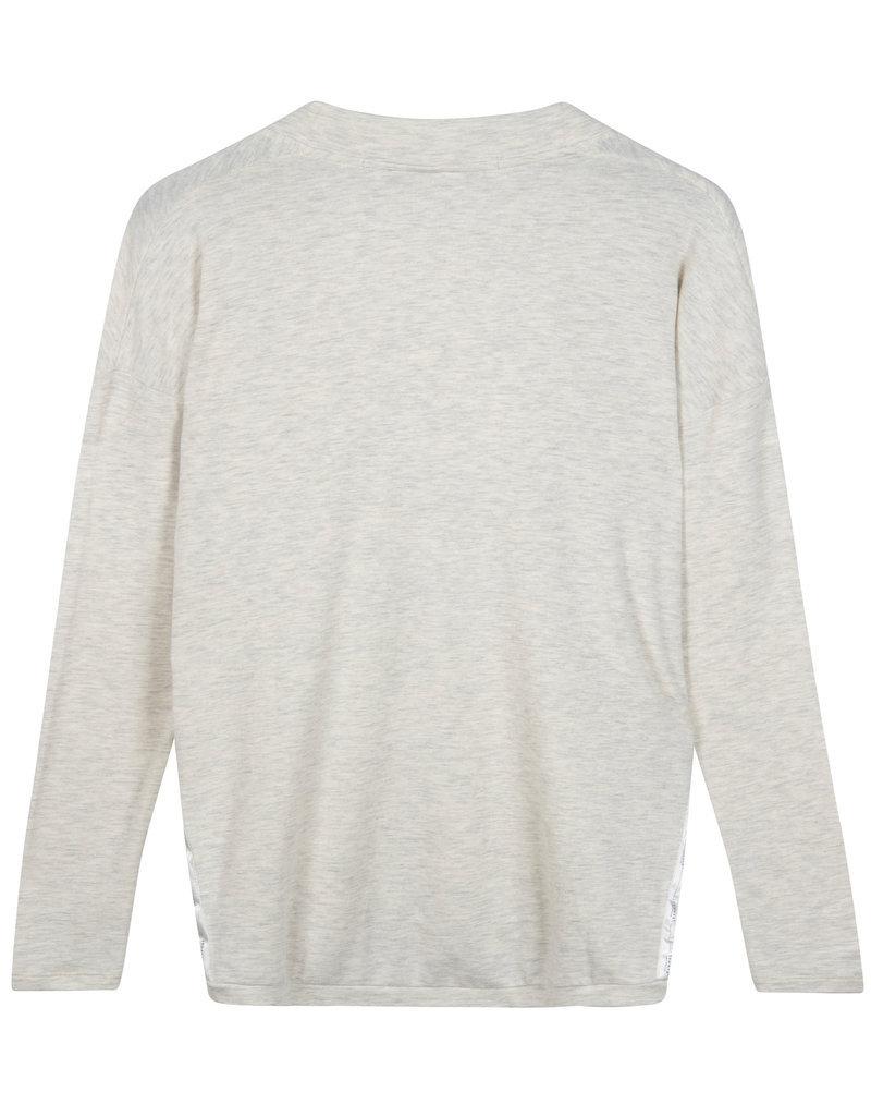 10Days 20-774-1201 Longsleeve soft white melee 10Days