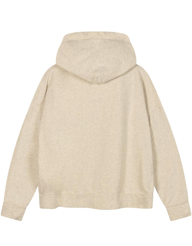 10Days 20-810-1201 Hoodie soft white melee 10Days