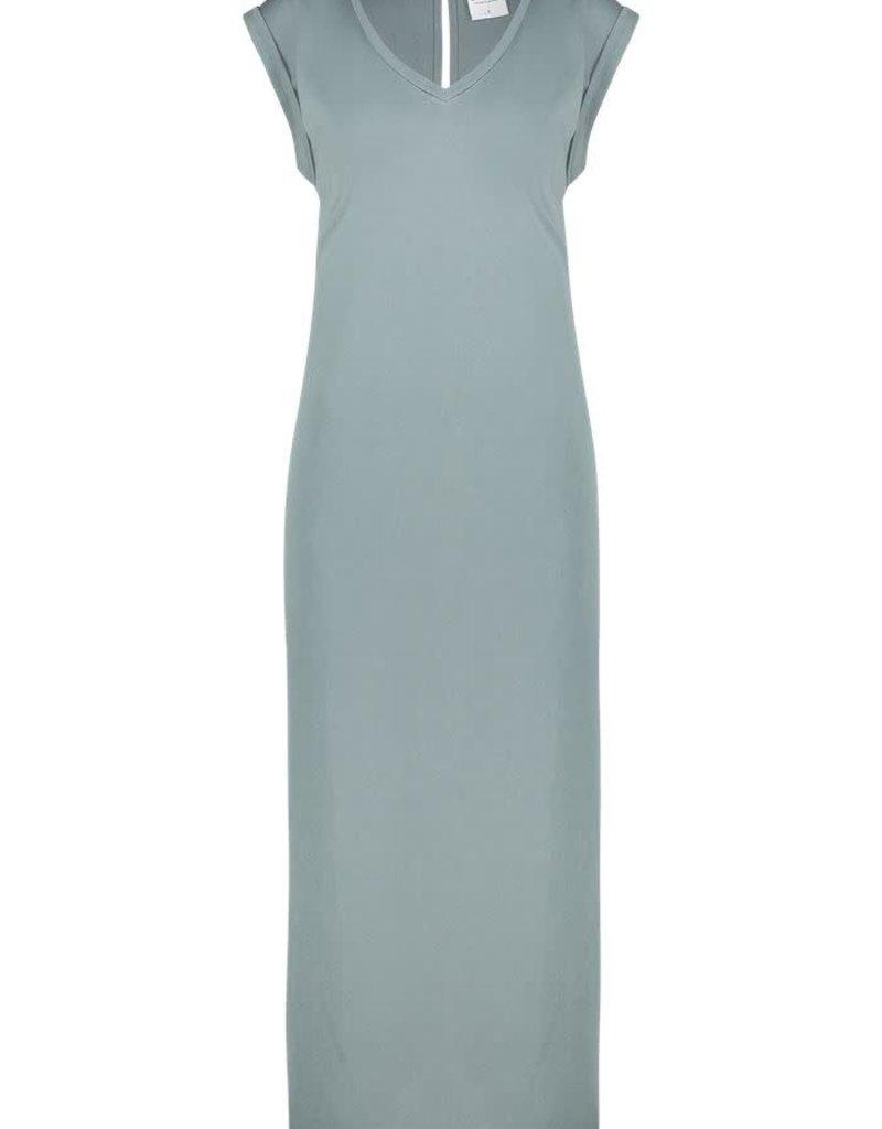 Simple 2416 Maxi jurk groen Simple PHELINE