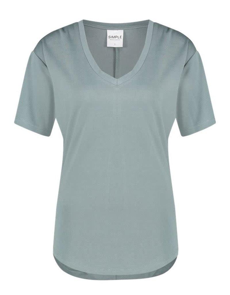 Simple 2414 T-shirt groen Simple LISA