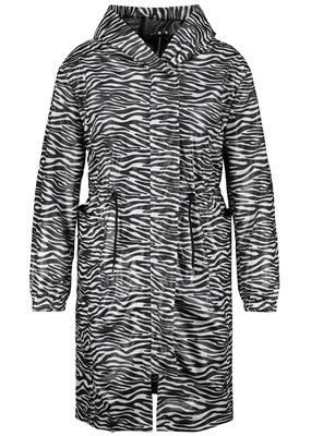 Samoon 650009-21600 jas zebra Zwart/wit Samoon