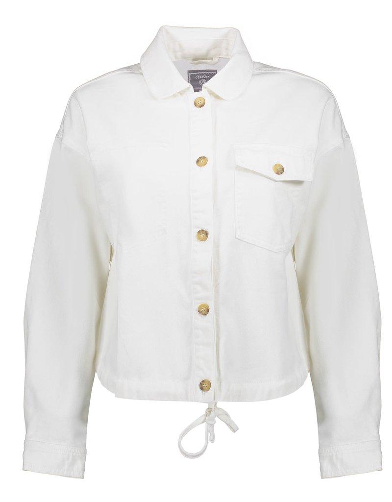 Geisha Jacket with pockets & buttons 15056-24 offwhite Geisha