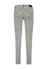 Para Mi SS211.138001 Painted Stripes broek Celine zwart Para mi