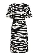 Geisha Jurk zebra zwart 17130-20 Geisha