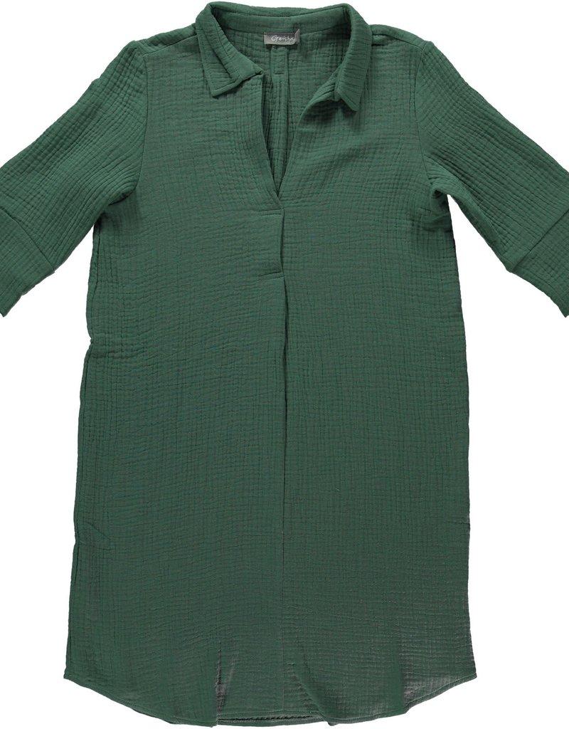 Geisha Jurk blouse with collar 17110-20 Mint Geisha