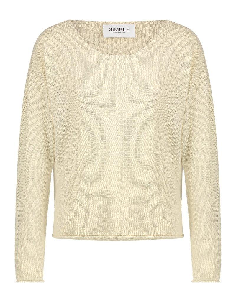Simple 2428 Sweater ivory Simple ELLENA