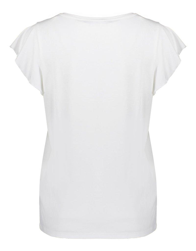 Geisha T-shirt aloha 12401-46 Offwhite Geisha