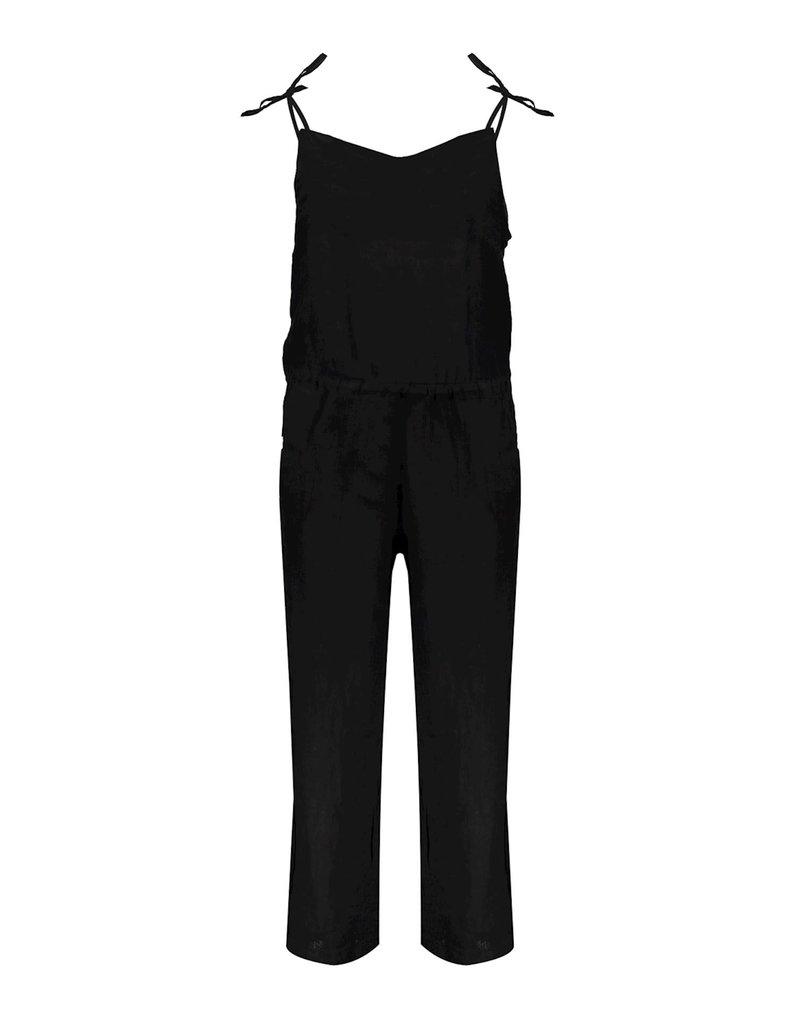 Geisha Jumpsuit striped 11061-70 zwart Geisha