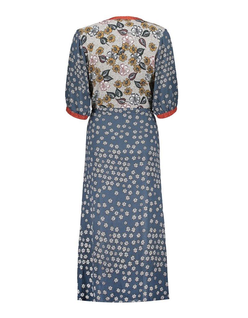 Geisha Jurk blauw 17438-20 Geisha