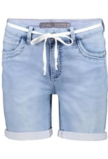 Geisha Shorts with lace at waist 11025-10 Denim Geisha