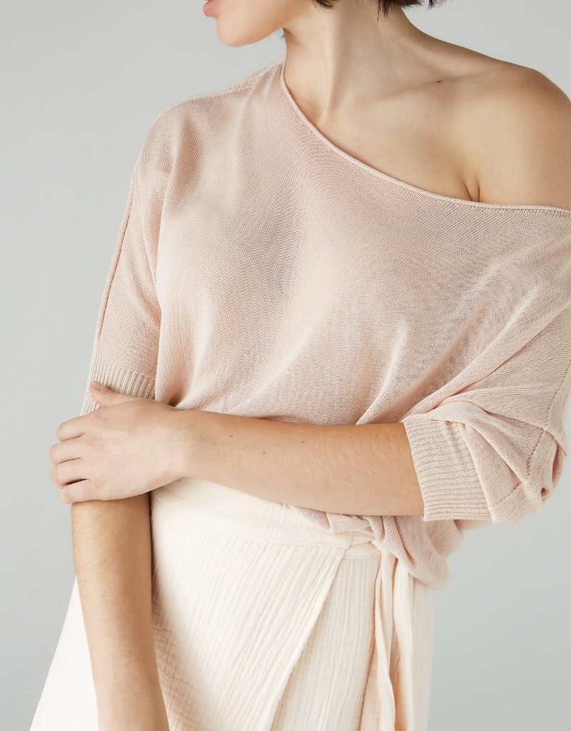Simple 2407 Sweater soft rose Simple Bowi