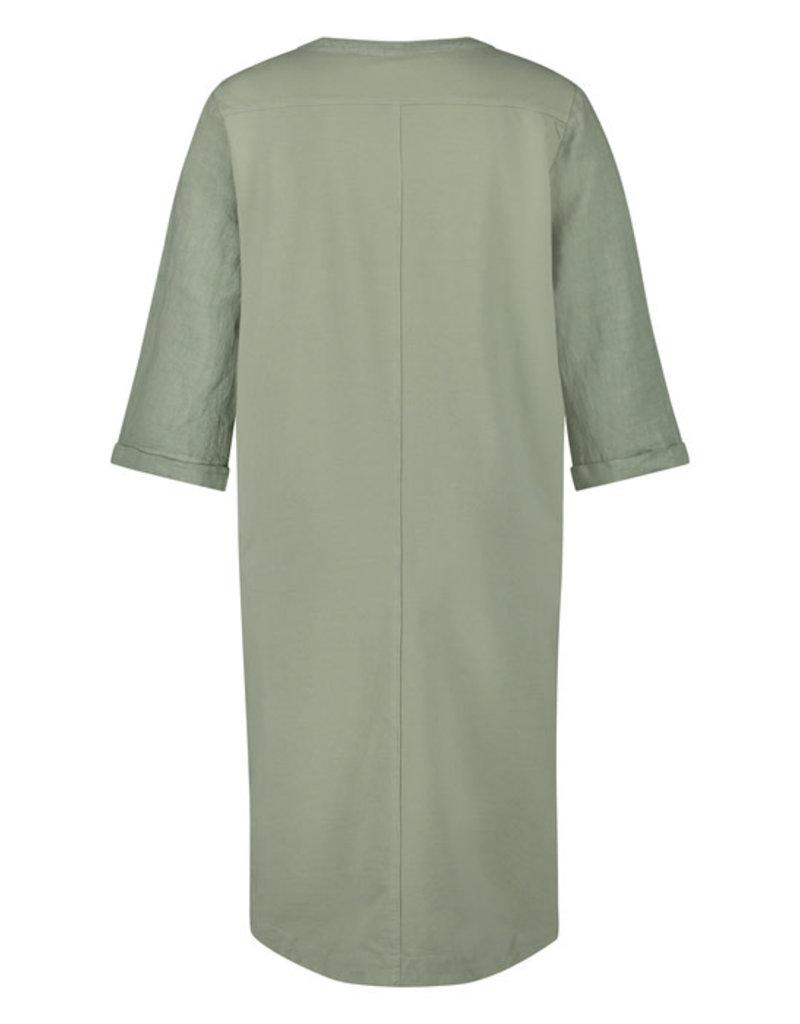 Nukus NS21-030 Kate dress Salvia groen  Nukus