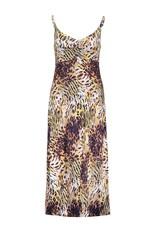 Geisha 17181-60 Noëlle jurk lang spaghetti multi animal