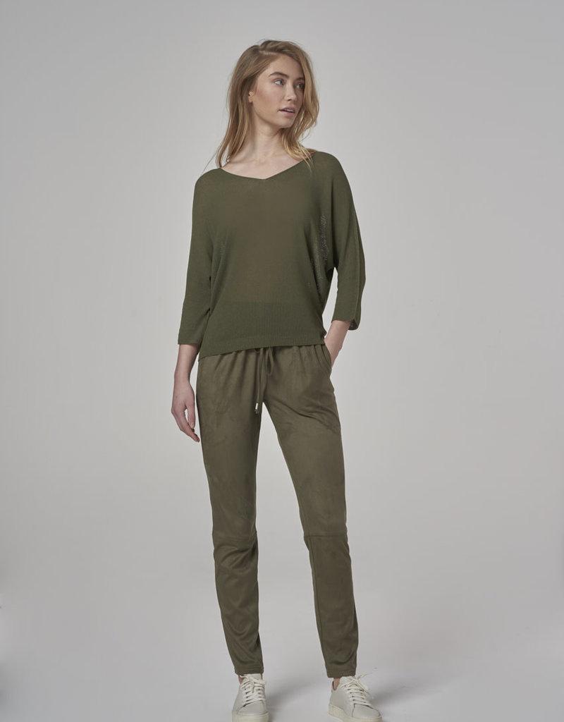 Simple Sweater Khaki 2510 Eloy