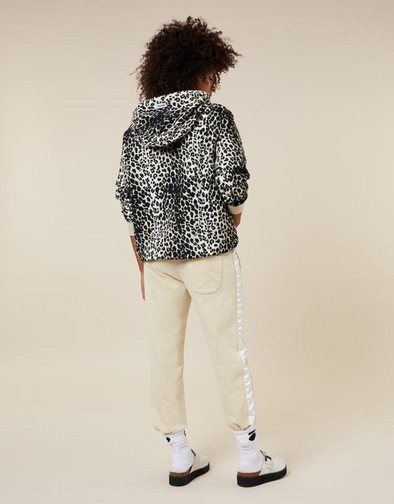 10Days hoodie leopard 20-803-1203 ecru 10Days