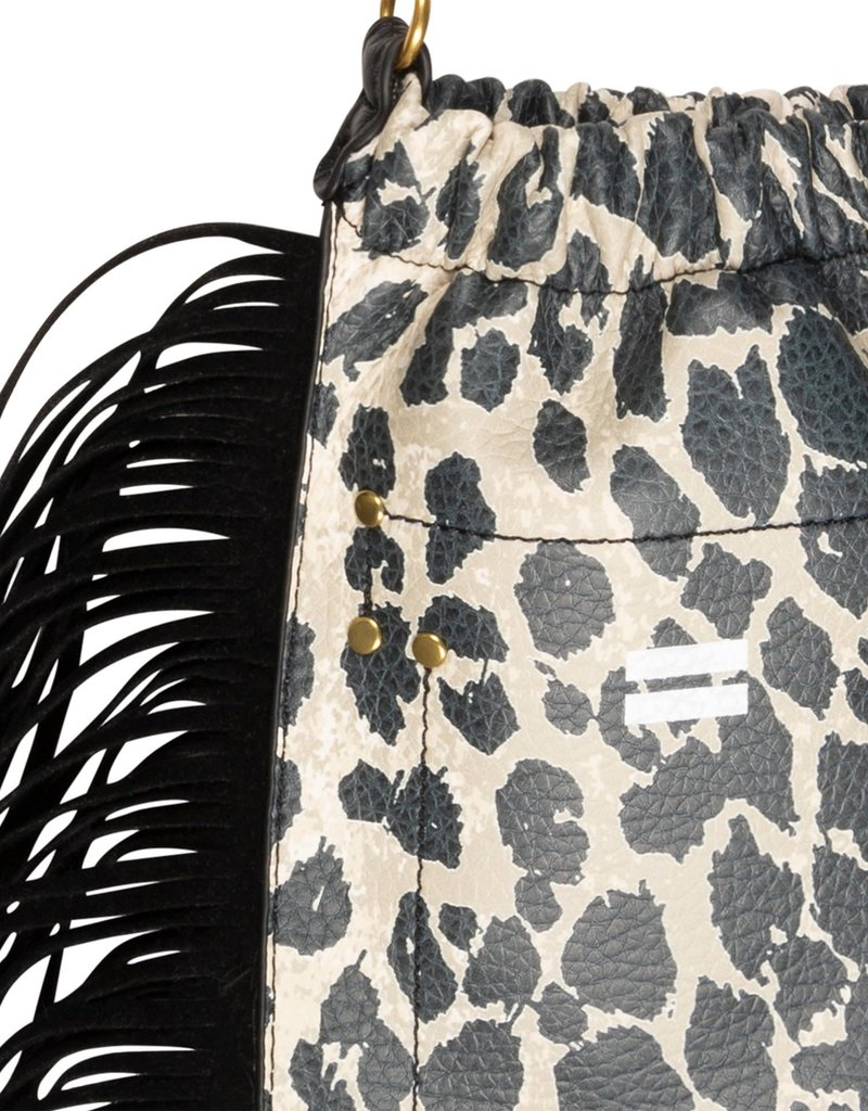 10Days bag fringe leopard cement 20-957-1203 10Days